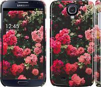 """Чехол на Samsung Galaxy S4 i9500 Куст с розами """"2729c-13"""""""