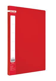 Папка-швидкозшивач А4 Buromax червоний Jobmax з пружиною, пліч. карм. (BM.3406-05)