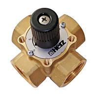 Четырехходовой смесительный клапан Herz dn 25