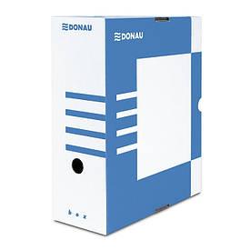 Бокс архівний Donau 120 мм для архівації синій (7662301PL-10)