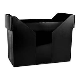 Бокс для підвісних файлів картотека Donau пластик чорна (7421001-01)