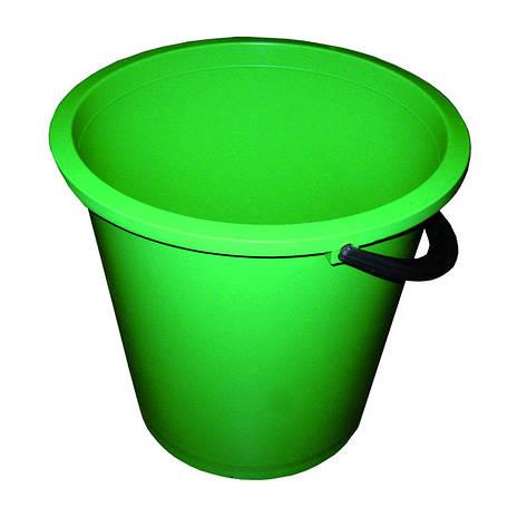 Відро Buroclean кругле асорті кольорів 10л 10300602, фото 2