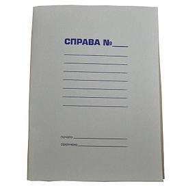 Папка Справа А4 картон 0.35 мм