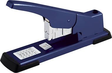 Степлер №23 Buromax 100л метал. усиленный синий BM.4287-02