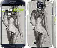 "Чехол на Samsung Galaxy S4 i9500 Девушка с ключом ""844c-13"""