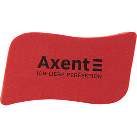 Губка магнитная для досок Axent Wave красная 9804-04-a