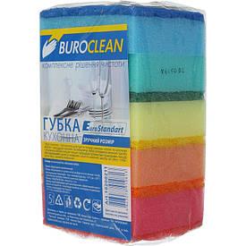 Губки кухонні BuroClean EuroStandart 100х70мм 5шт (10200211)
