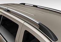 Рейлинги Volkswagen Caddy MAXI 2004- (фольксваген кадди) цвет Хром, крепление Abs