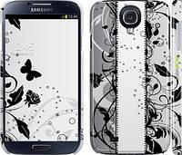 """Чехол на Samsung Galaxy S4 i9500 Цветочный узор 3 """"1582c-13"""""""