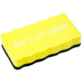 Губка для сухостираєма дощок Buromax з магнітом асорті (BM.0074-99)