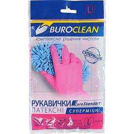 Перчатки хозяйственные Buroclean размер L суперпрочные ( 10200305)