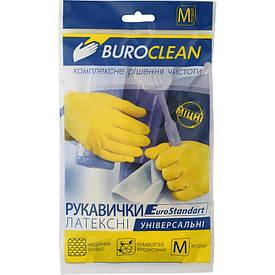 Перчатки хозяйственные Buroclean размер M( 10200301)