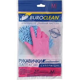 Перчатки хозяйственные Buroclean размер M суперпрочные ( 10200304)