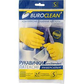 Перчатки хозяйственные Buroclean размер S( 10200300)