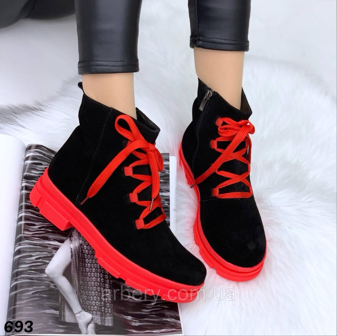 Шикарные натуральные яркие ботинки Off
