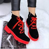 Шикарные натуральные яркие ботинки Off, фото 1