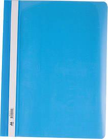 Скоросшиватель Buromax А4 голубой усы, PP (BM.3311-14)