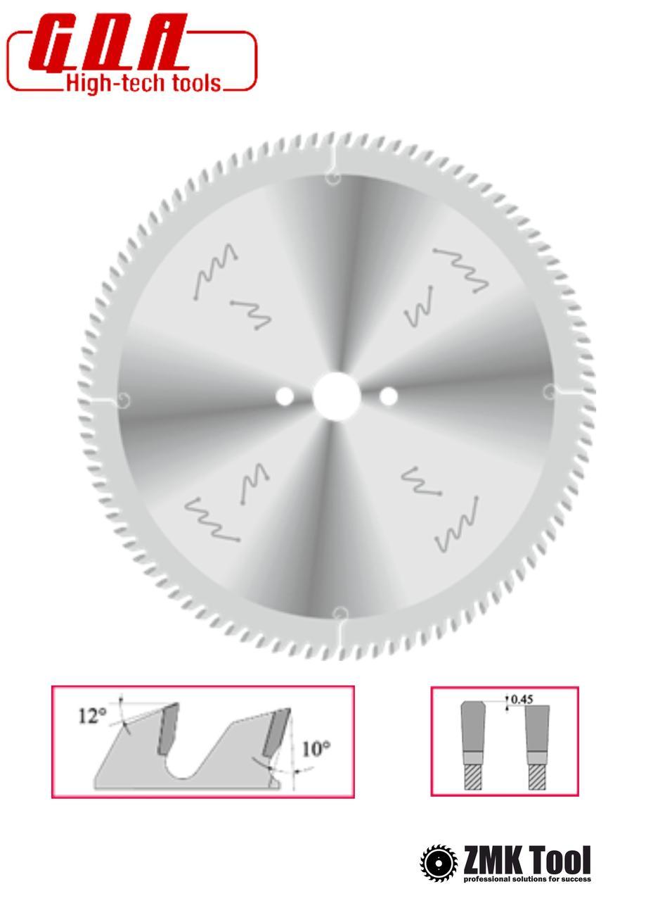 Пила для чистового распила плитных материалов с подрезной 300x30x3,2/2,2 z96