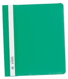 Скоросшиватель Buromax А5 зеленый усы, PP (BM.3312-04)