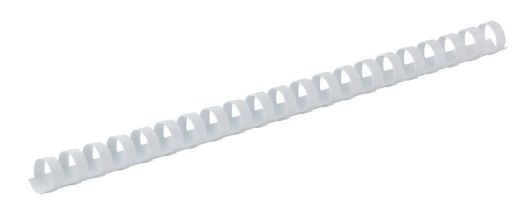 Пластиковая пружина d 14мм белая 100 шт., фото 2