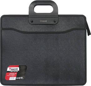 Портфель Axent B4 3 отд. на молнии черный 1603-01-A