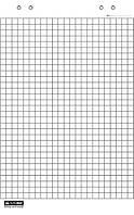 Бумага для флипчарта листы Buromax 10 листов 64 х 90 см BM.2294