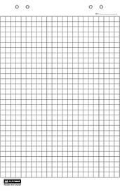 Блок паперу для фліпчартів Buromax 20 аркушів 64 х 90 см BM.2296