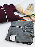 Кардиган женский с капюшоном весна-осень. Размеры: 42-44, 46-48, 50-52, 54-56, 58-60, 62-64., фото 3
