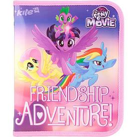 Папка на блискавці My little Pony Kite В5 РР об'ємна LP17-203-02