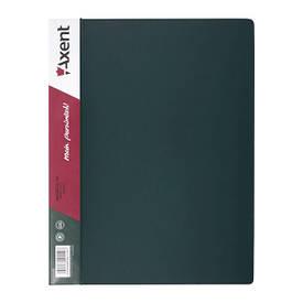Папки на кільцях А4 Axent 2 кільця 25мм зелена 1207-05-A