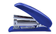 Степлер Buromax POWER SAVING 20л. (скобы №24,26) пластиковый синий (BM.4211-02)