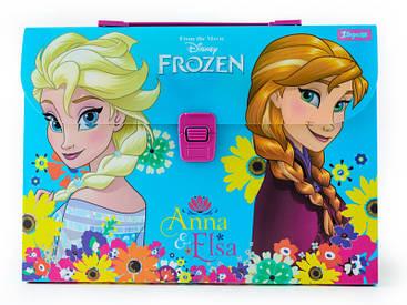 Портфель пластиковый ''Frozen''