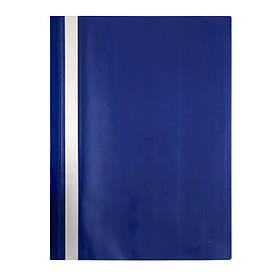 Швидкозшивач Axent А4 синій вуса, PP (1317-02-A)