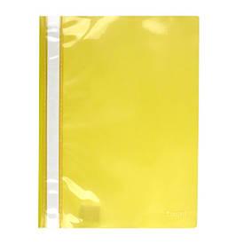 Швидкозшивач Axent А4 жовтий прозр верх 1317-26-A