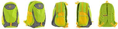 Рюкзак спортивний Yes SL-01 відд. для ноутбука салатовий 557504