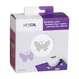 Фігурний дирокол, магнітний, Метелик, 4 см, Heyda