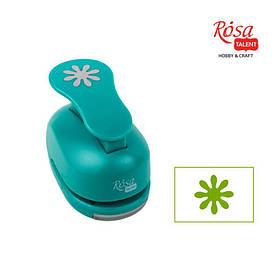 Дырокол фигурный ROSA TALENT Цветок 3,8см (4823100125734)