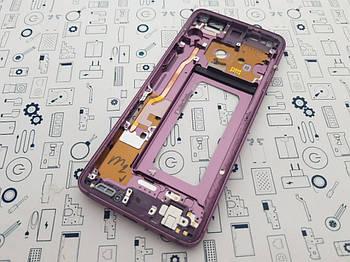 Рамка дисплея Samsung Galaxy S9 SM-G960F Lilac Purple Сервисный оригинал с разборки