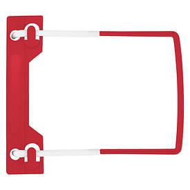 Сшиватель Axent красный для документов, пластик, 73мм, 500л (1725-A)