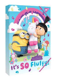 Папка для зошитів картонна В5 ''Minions Fluffy'' Yes 491665