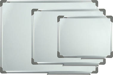 Дошка сухостераемая 45Х60см Axent магнітна алюм рамка D9611