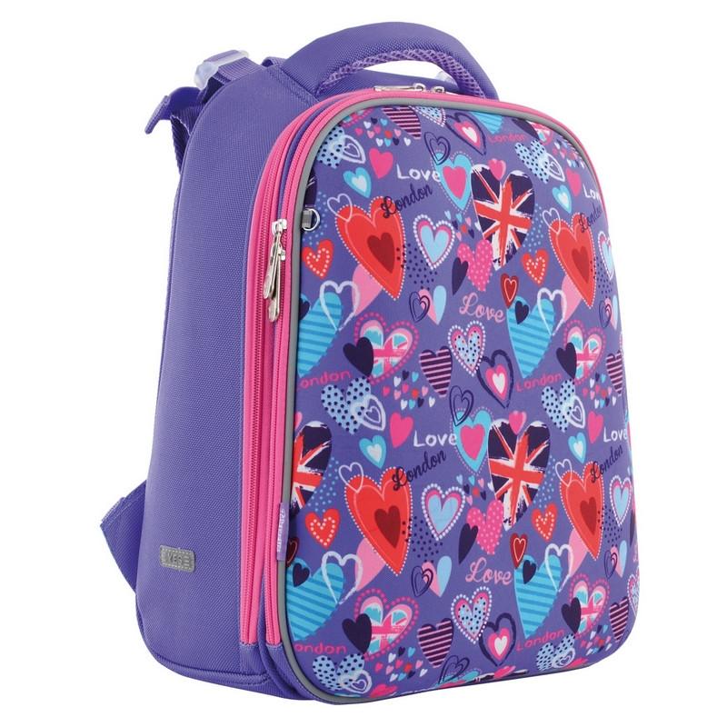 Рюкзак шкільний Yes каркасний відд. для ноутбука Fantasy (556052)