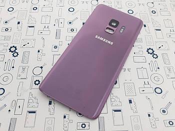 Крышка Samsung Galaxy S9 SM-G960F Lilac Purple Сервисный оригинал с разборки