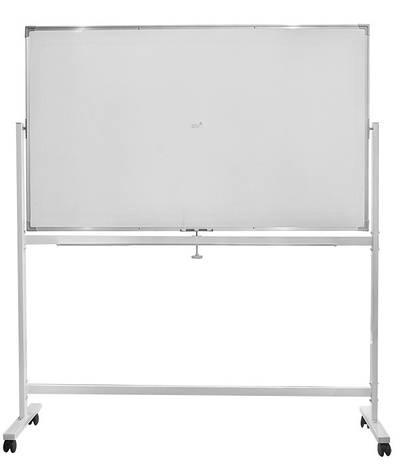 Фліп-чарт Buromax 90х150 см дошка для маркера горизонтальна алюмінієва рама BM.0202, фото 2