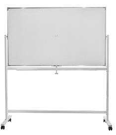 Фліп-чарт Buromax 90х150 см дошка для маркера горизонтальна алюмінієва рама BM.0202