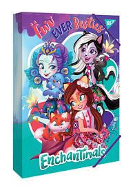 """Папка для праці картонна А4 """"Enchantimals"""" Yes 491676"""