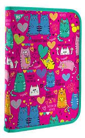 Папка для праці пласт. на блискавці FC ''Lovely Cats'' Yes 491586