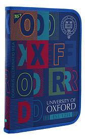 """Папка для праці пласт. на блискавці FC """"Oxford"""" Yes 491587"""