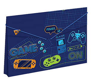 Папка пласт. на резинці 38x25см ''GAME'' Yes 491685