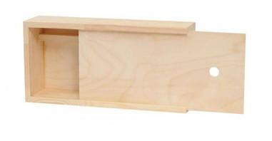 Пенал для гуаші Rosa 28х14х7см дерев'яний 4820149892917